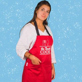 Delantal estampado the best cook