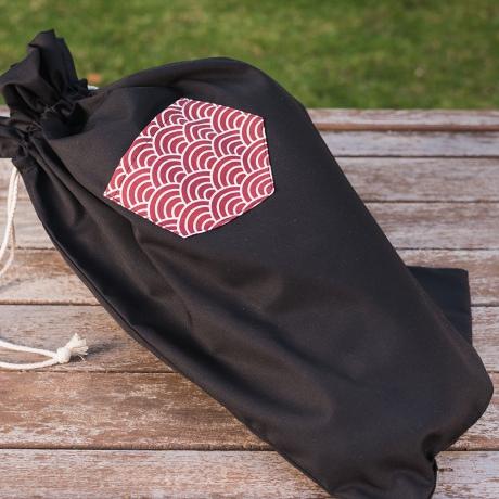 bolsa de pan tela
